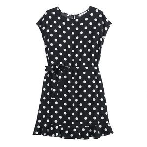 Polka dot dress size L worn 2 times
